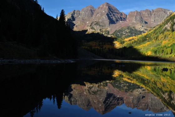 maroon bells. aspen, colorado.