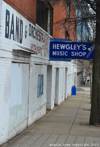 Nashville, TN music shop